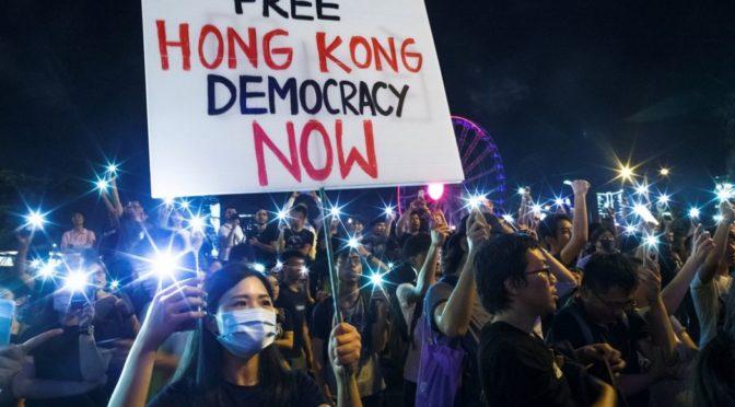 Hong Kong : 2 mois et demi de révolte [presse]