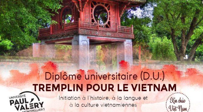 « Tremplin pour le Vietnam » – Université  Paul-Valéry Montpellier 3