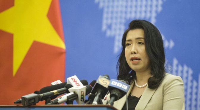 """""""Mer de l'EST"""" : Nouvelle protestation du Viêt-Nam"""