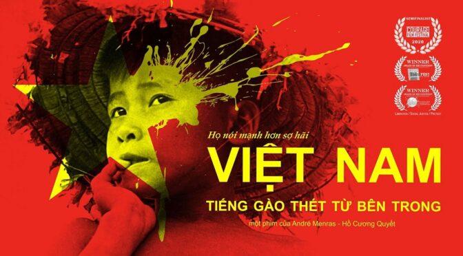 André Menras : «Việt Nam: Tiếng gào thét từ bên trong» [2020]