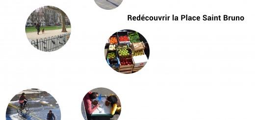 Redécouvrir le place Saint Bruno, Patchwork d'activités