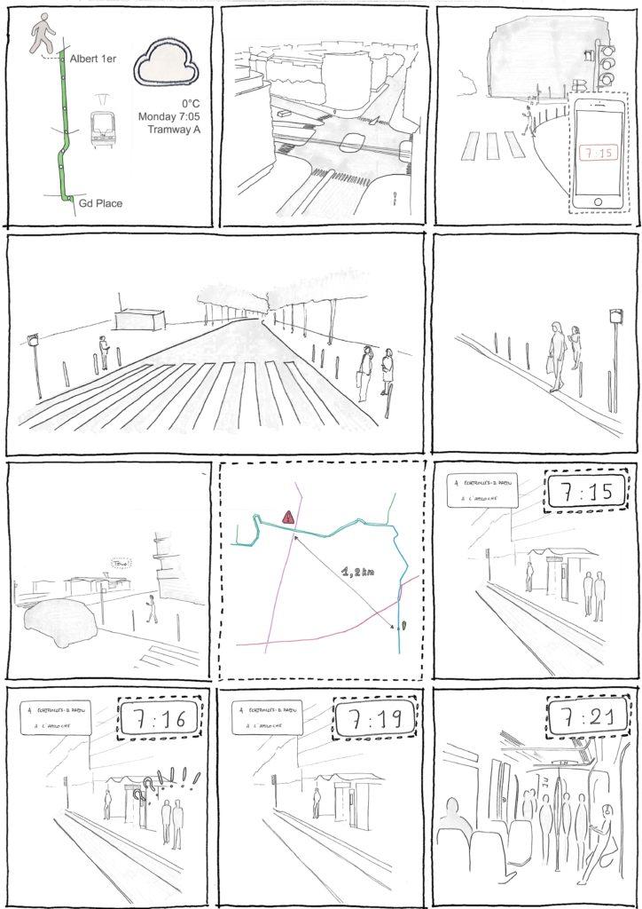 Commuting 2, Bande dessinée de Steven Saulnier-Sinan, 2017