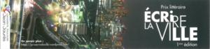 Flyer du prix Ecire la ville 2016