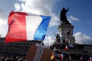 Place de la République, 11 janvier 2015, CC par Olivier Ortelpa