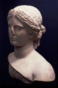 buste antique de femme, Centre C. Jullian