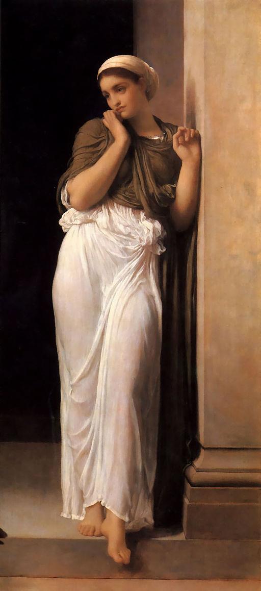 Nausicaa, huile sur toile de Frederick Leighton, vers 1878 (Wikicommons)