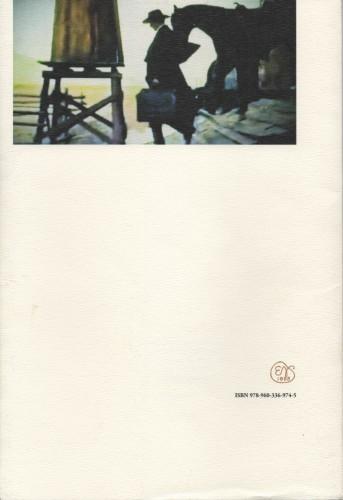 """Dos de couverture de l' """"Ode à Sergio Leone"""" de P. Leventopoulos"""
