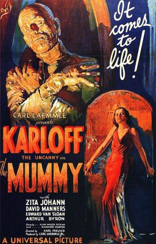 Karl Freund, La Momie, Film américain de 1932