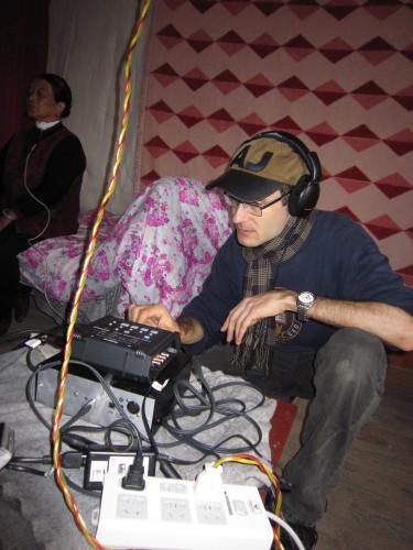 A recording session